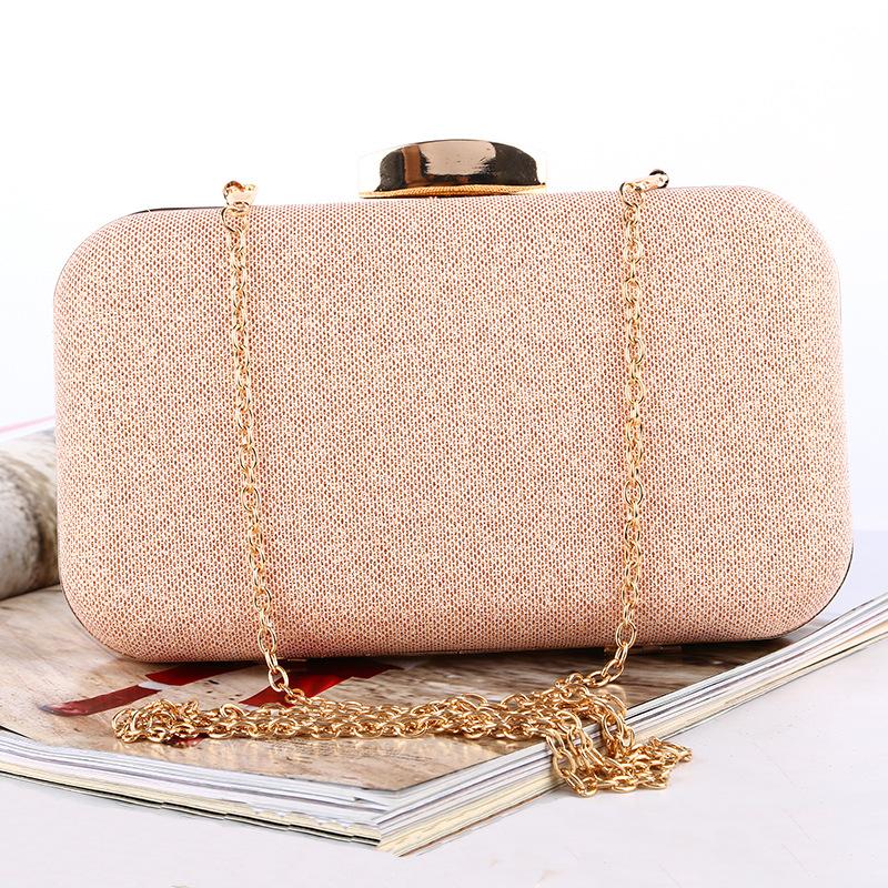 Lady Desin Elegant Night Clutch Club Glitter Evening Bag Handbag Glittered Purse