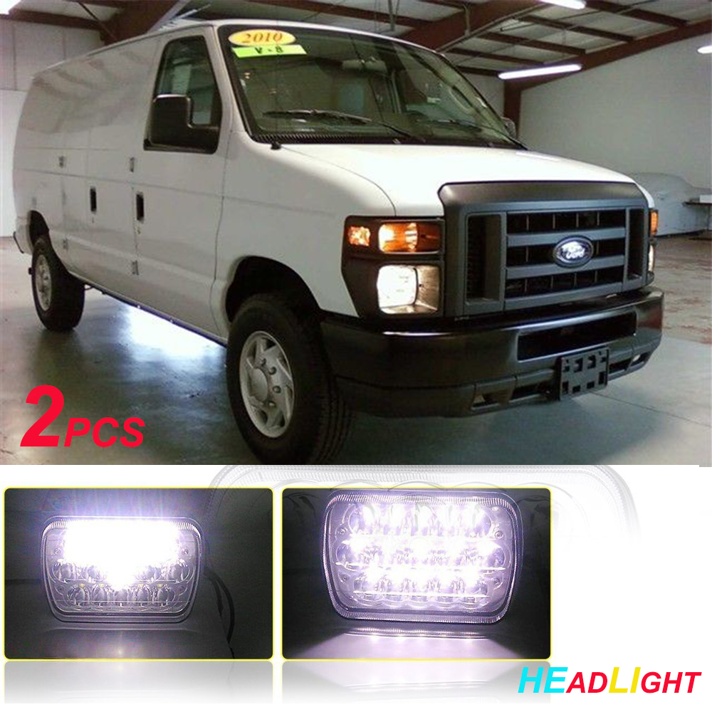 New Replacement Led Headlight Rh For 2008 11 Ford Econoline Van 1949 Sealed Beam