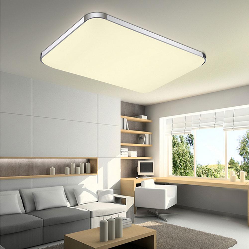 led deckenleuchte 12 72w deckenlampe dimmbar wohnzimmer. Black Bedroom Furniture Sets. Home Design Ideas