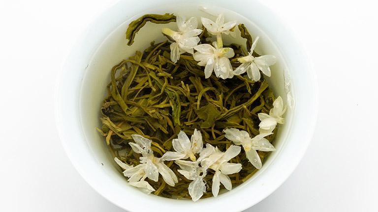 green tea with jasmine b