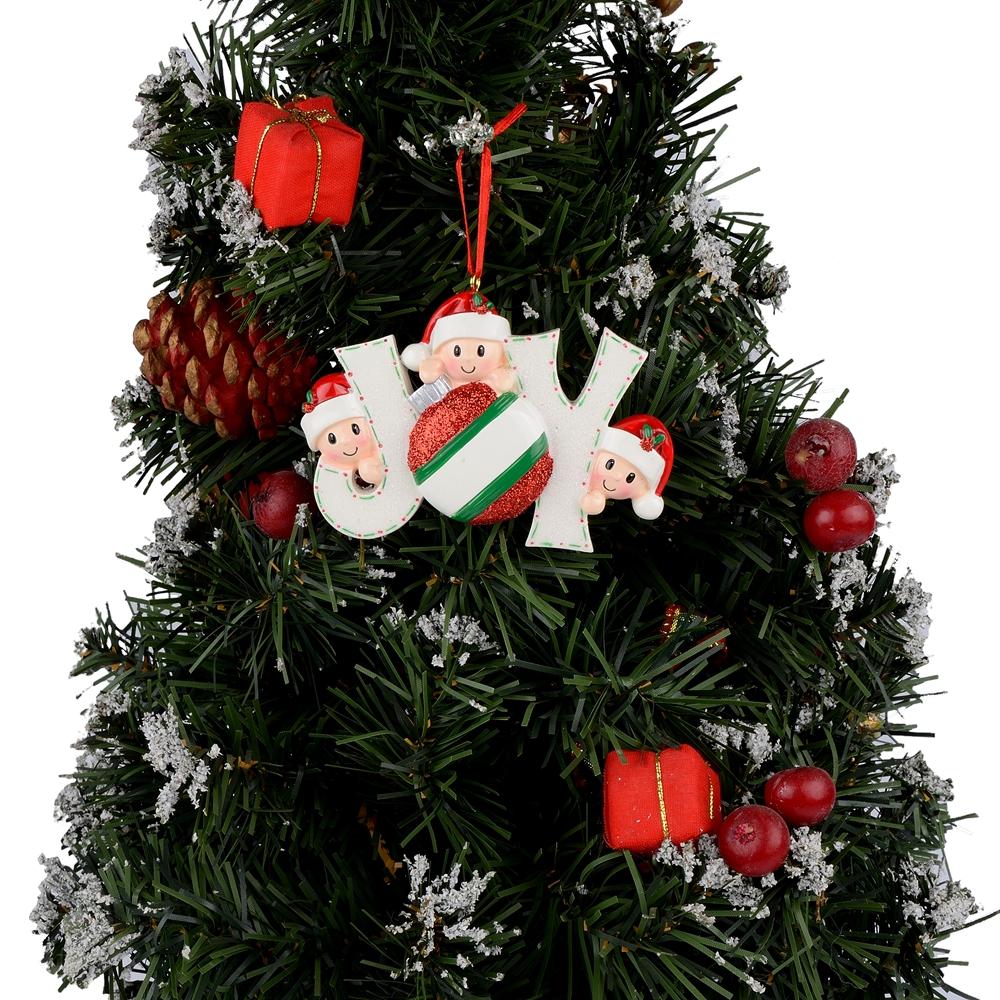 Christmas Tree Auction: MAXORA JOY Family Of 2 3 4 5 6 7 Personalized Christmas