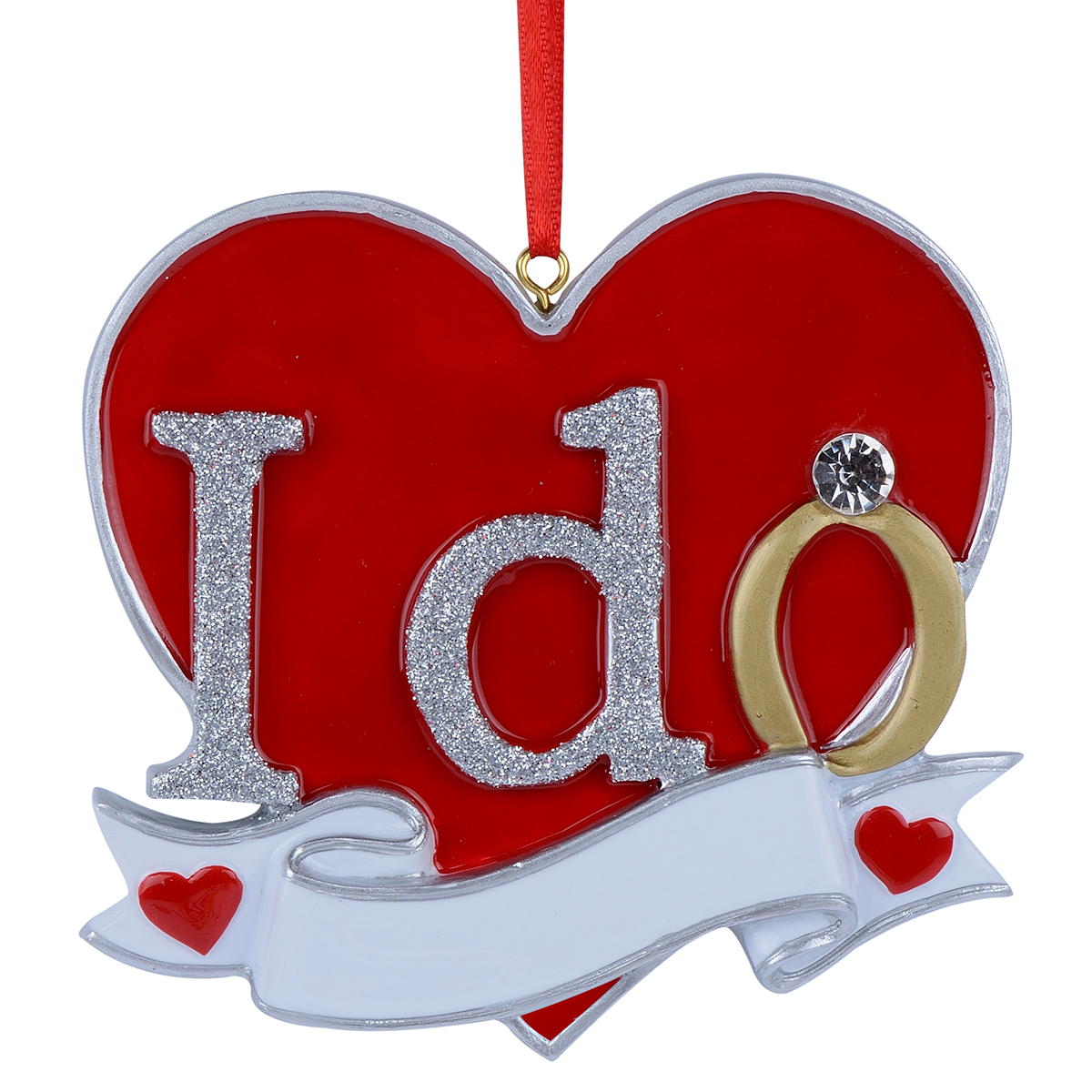 Details About Engagement Yes I Do Engaged Personalized Christmas Ornaments Newlywed Gift