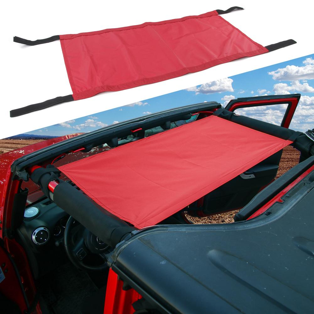 Car Roof Rest Bed Hammock for Jeep Wrangler & Unlimited TJ