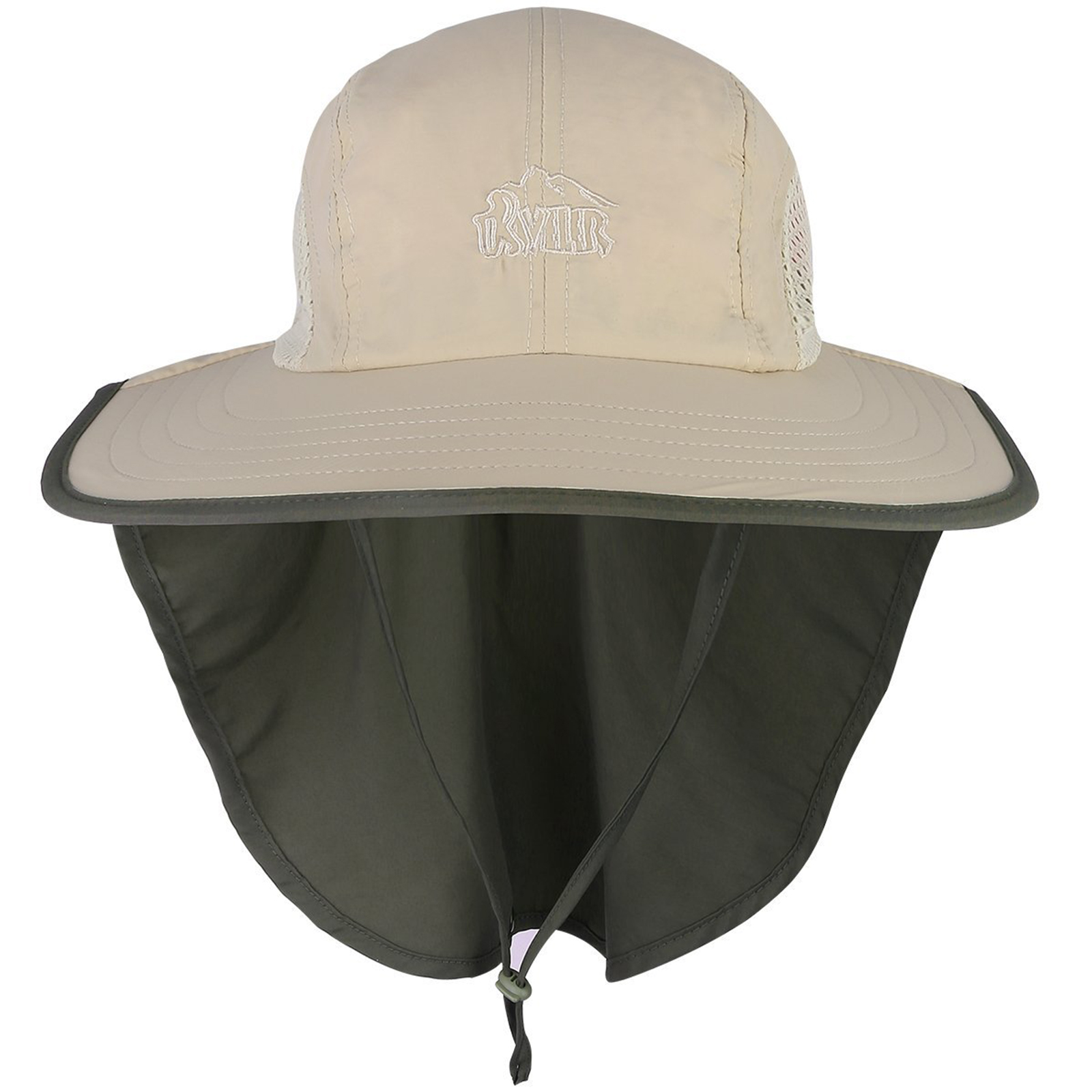c8bbac87fc0a9 G4Free Outdoor Sun Protection Fishing Cap with Neck Flap Packable Wide Brim  Anti-UV Sun Hat UPF for Travel Fishing Camping Hat