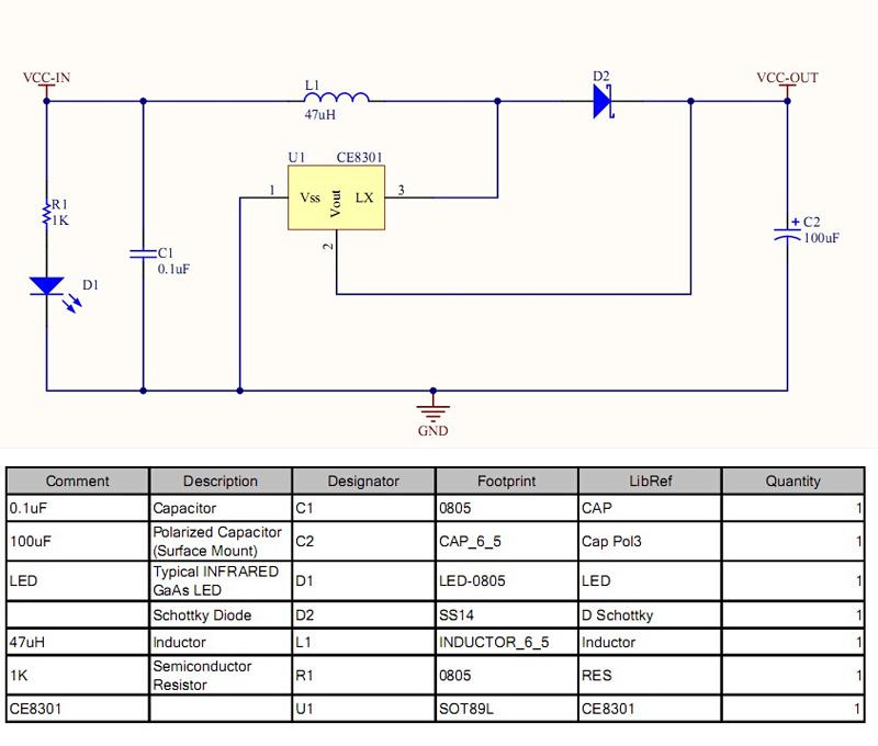 Mini Dc Dc Usb 0 9v 5v To 5v Boost Step Up Power Supply