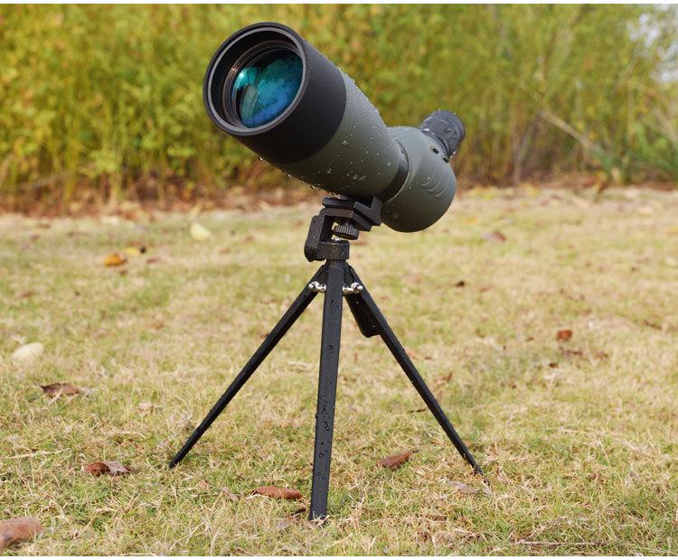 Zoom teleskop monokular spektive bak landschaft