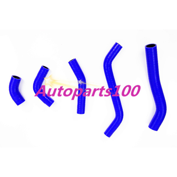 KAWASAKI KX450F//KXF450 2006 2007 2008  SILICONE RADIATOR//COOLANT HOSE Y BLUE