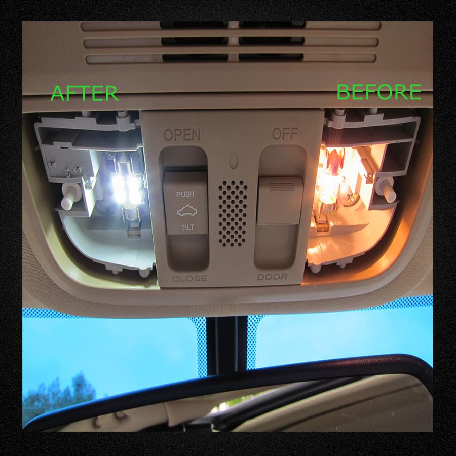 2003 Dodge Ram Van 3500 Interior: 11Pcs White LED Interior Kit Car Lights For 2003-2008