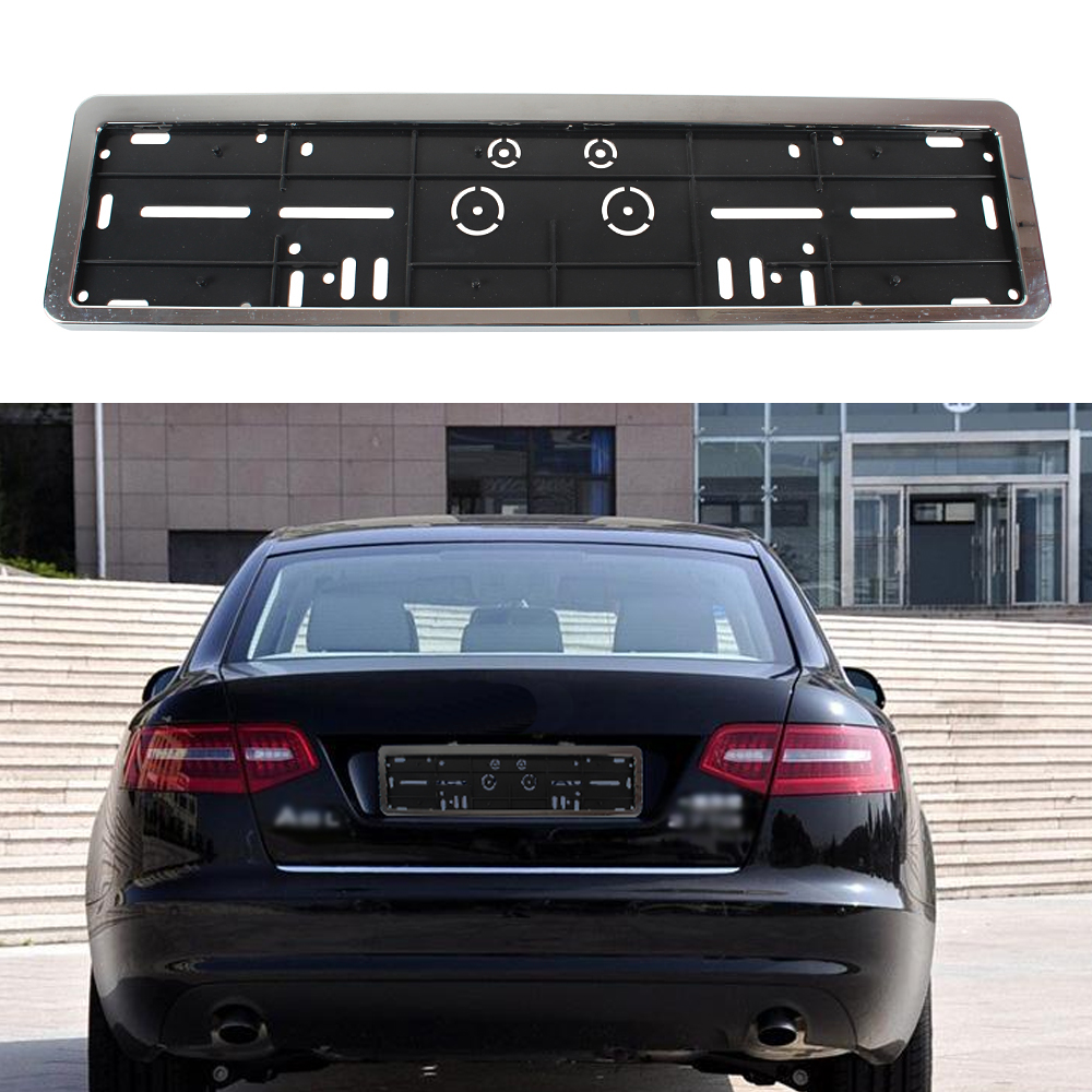 European Car Plastic License Plate Frames EU Number Plate Frame ...