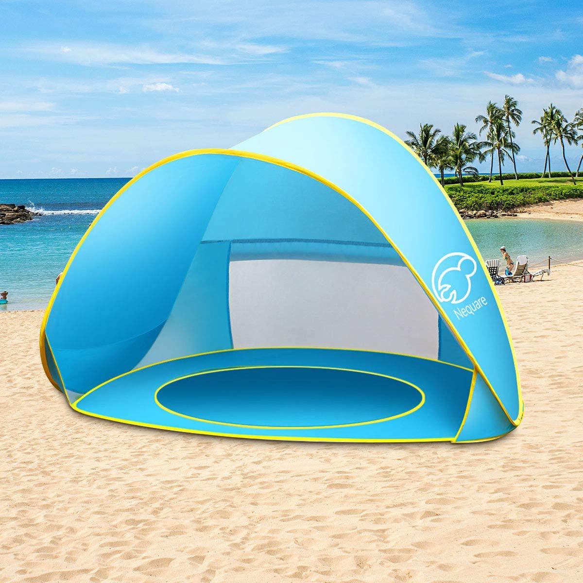 Nequare Baby Beach Tent Pop Up Pool Sun