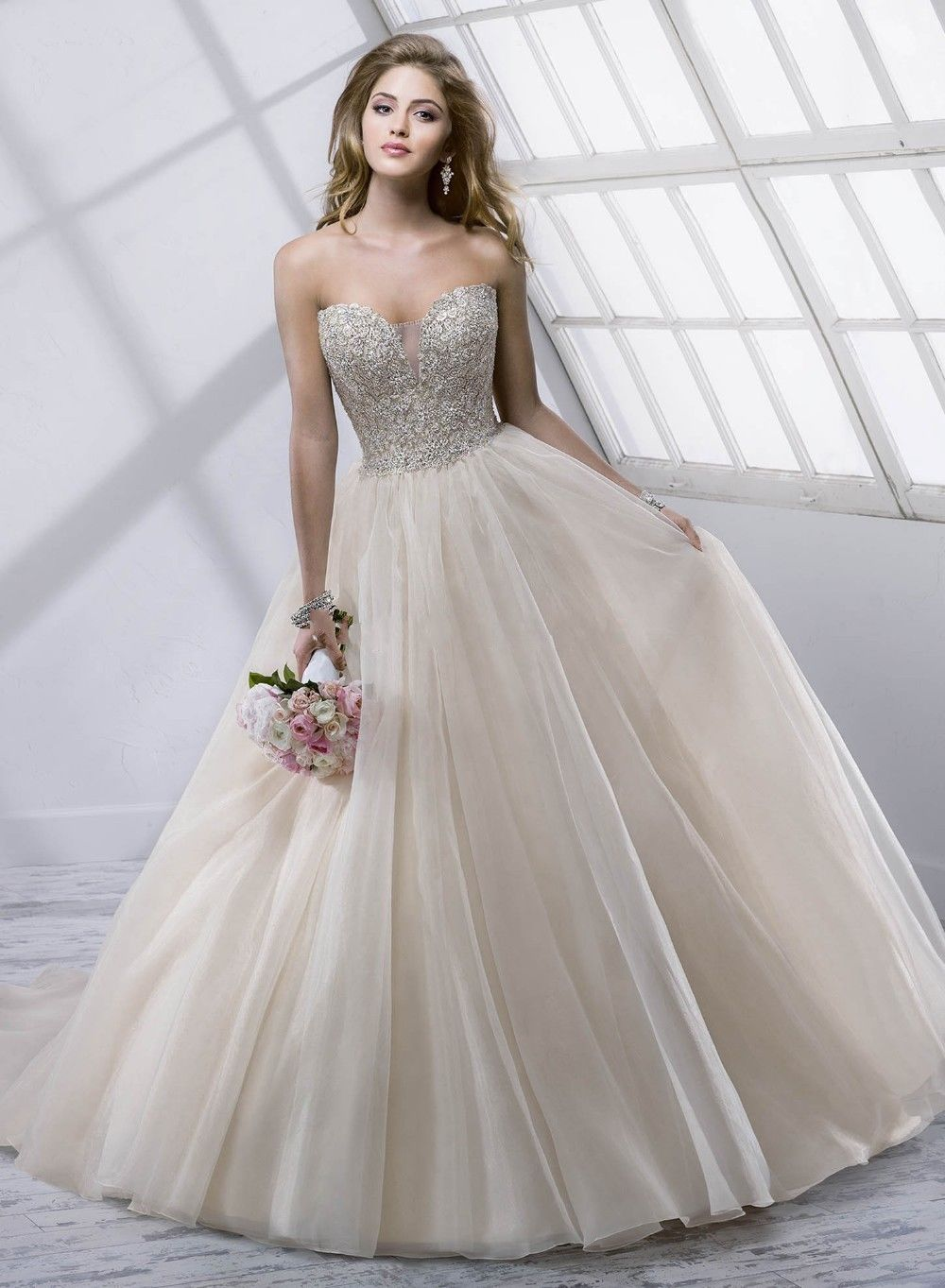 sweetheart ball gown so nicely wedding dress gown bride custom all ...