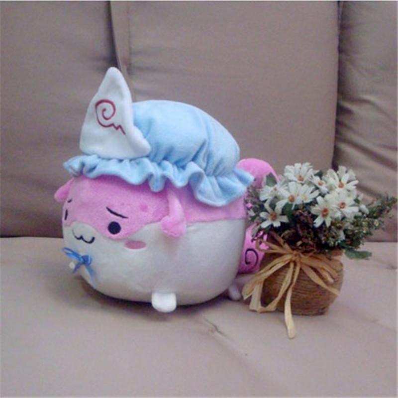 """14/"""" TouHou Project Sukusuku Hakutaku Remilia Flandre Plush Doll Stuffed Toy Cos"""