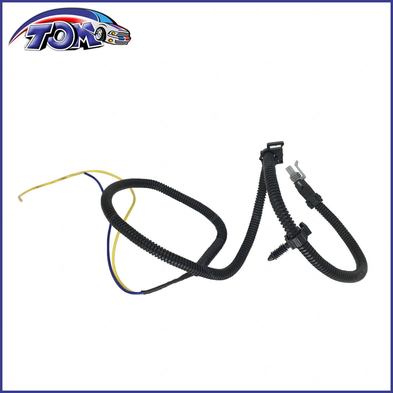 abs wheel speed sensor wire harness front for cavalier