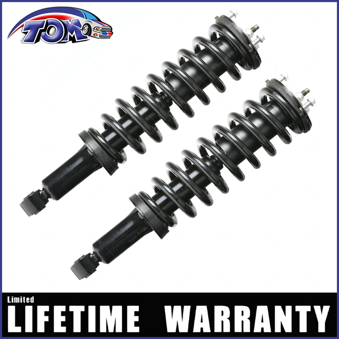 Fit 2001 2002 2003 2004 2005 2006 2007 Toyota Sequoia Front Shocks /& Struts Pair