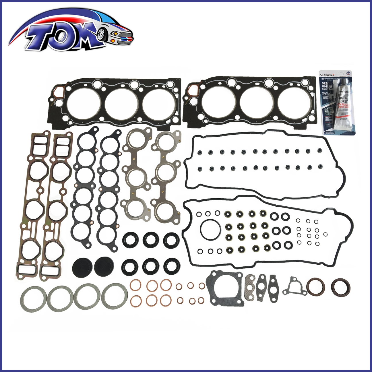 New Valve Cover Gasket Set Fit Toyota Truck 4Runner Tundra Tacoma T100 3.4L V6