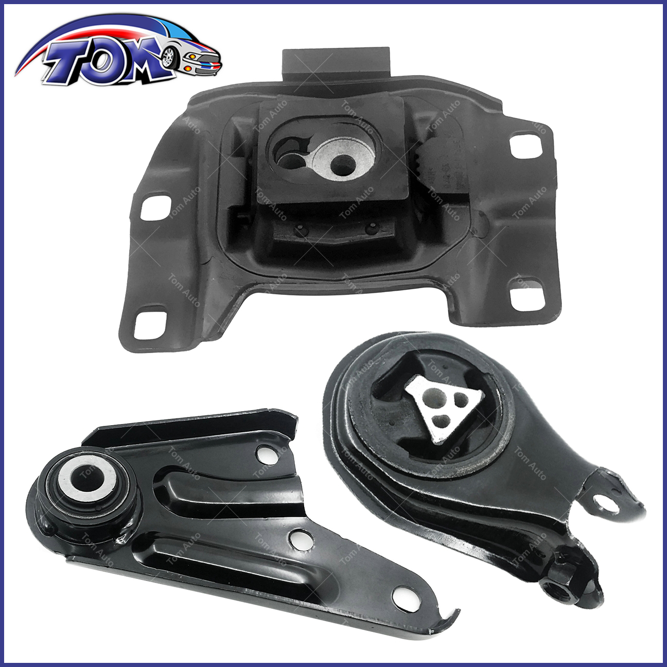 Engine Mount and Transmission Mount Kit Compatible with 2010-2013 ...