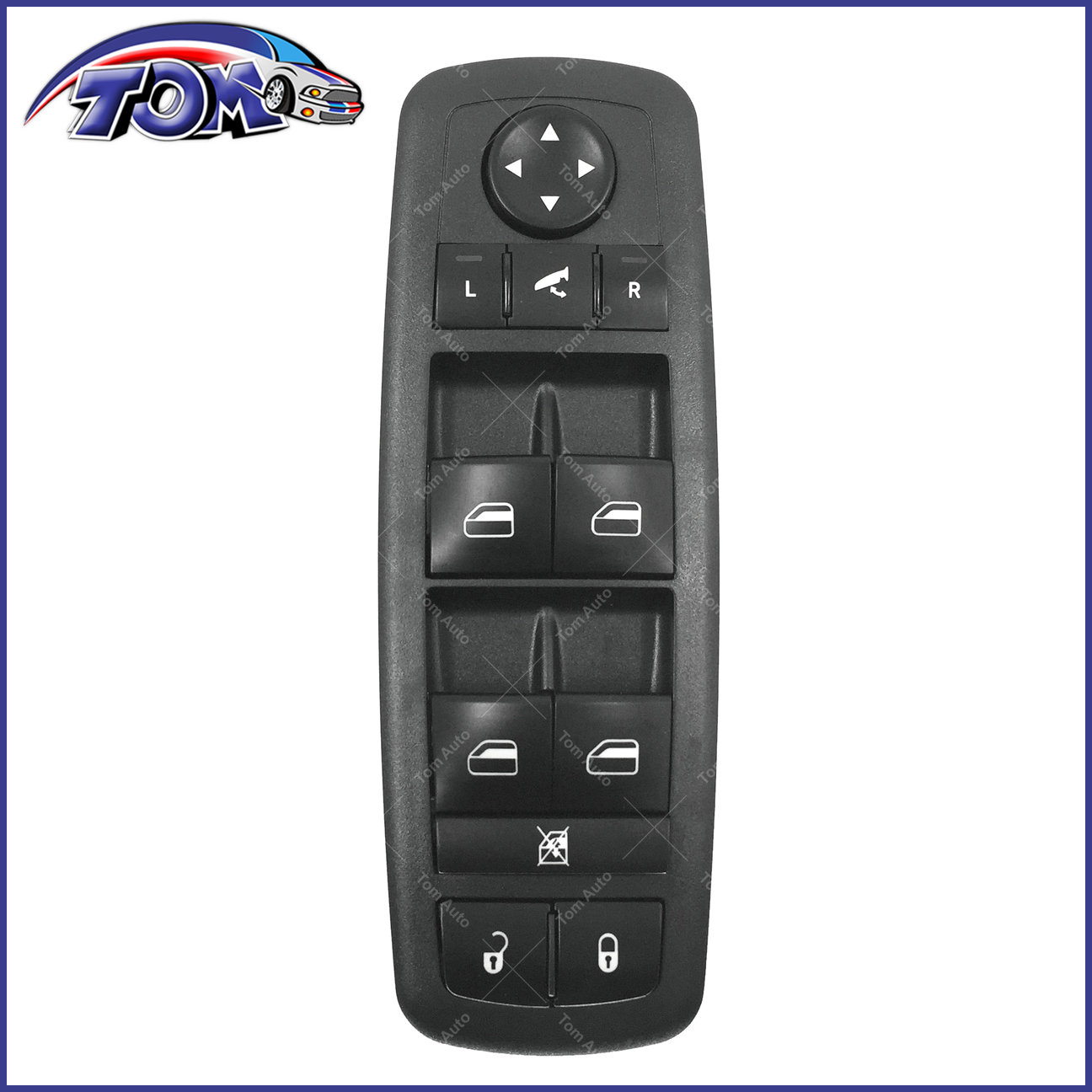 Window Switch 1 PC of Car Drive Window Control Switch for Dodge Grand Caravan Chrysler 2008-2009 04602534AF.