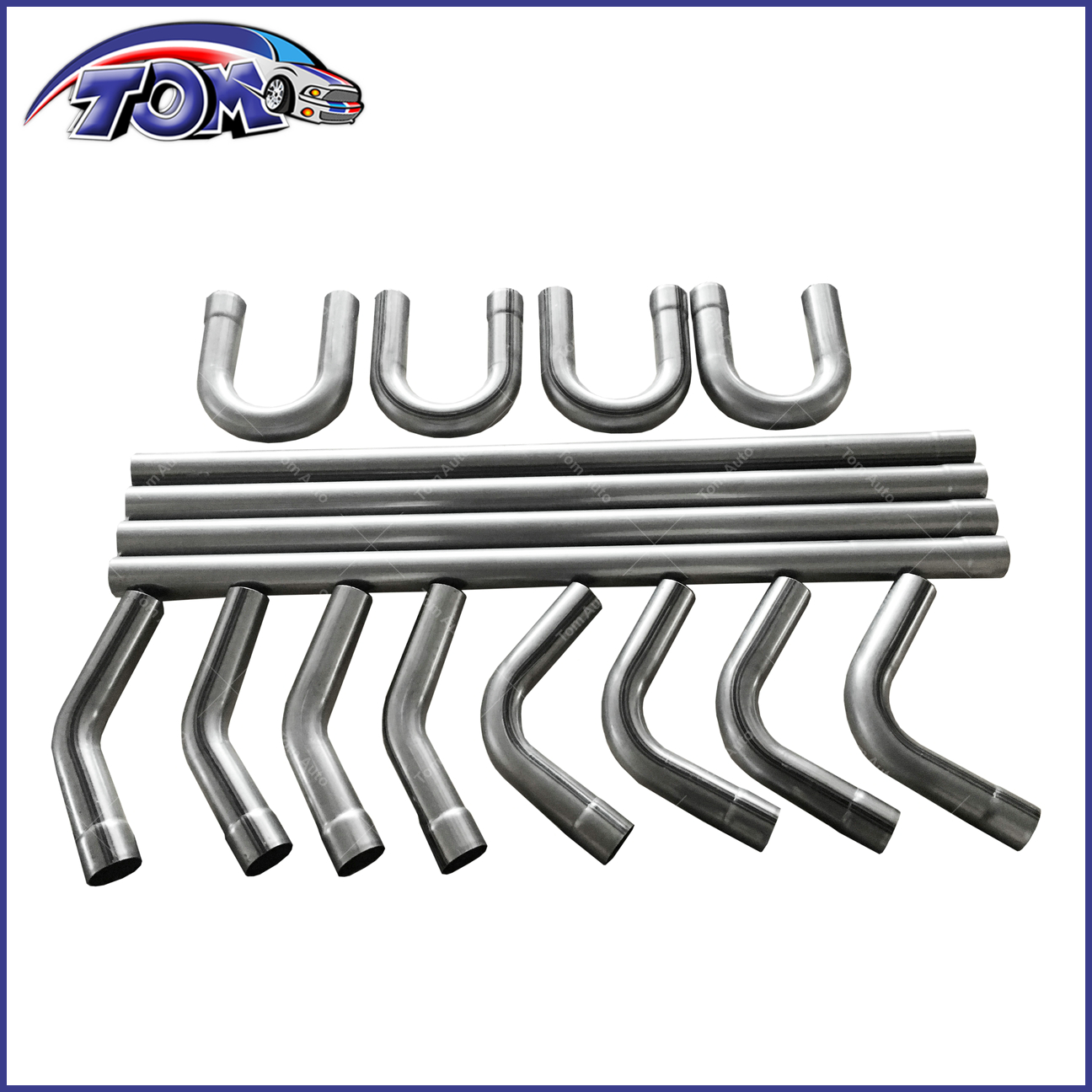 what does straight pipe exhaust mean