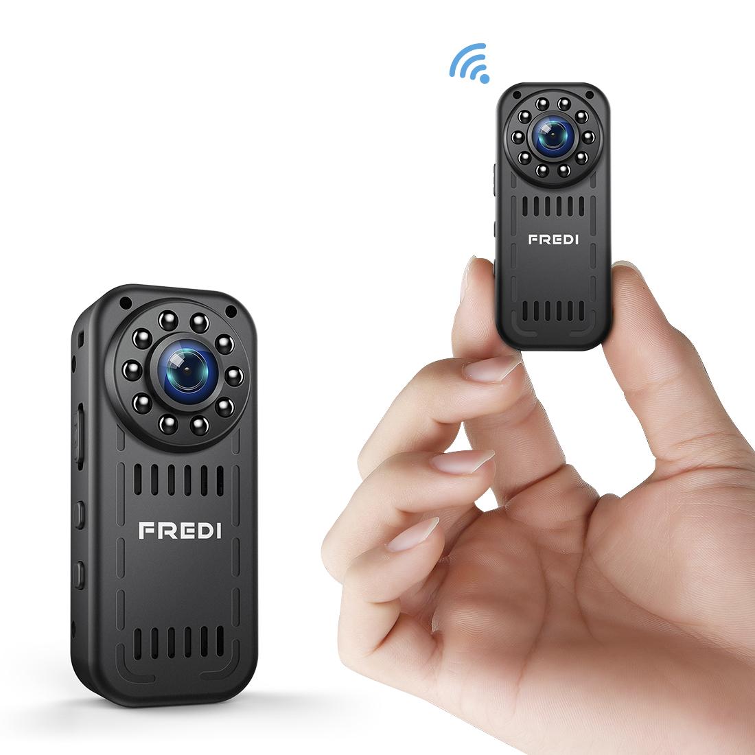0a1459d1b5a61 Details about FREDI Mini Hidden Spy Camera HD1080P Wifi Camera Security IP  Camera Night Vision
