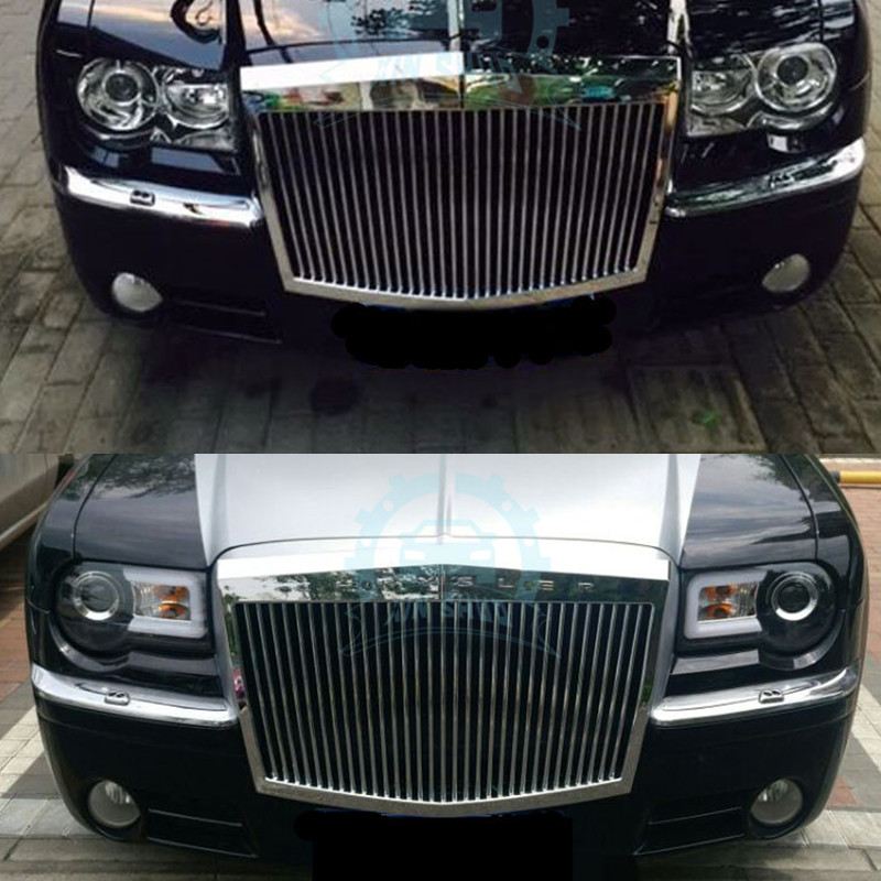 Vehicle Front Bumper Hood Grille Grill Modified For