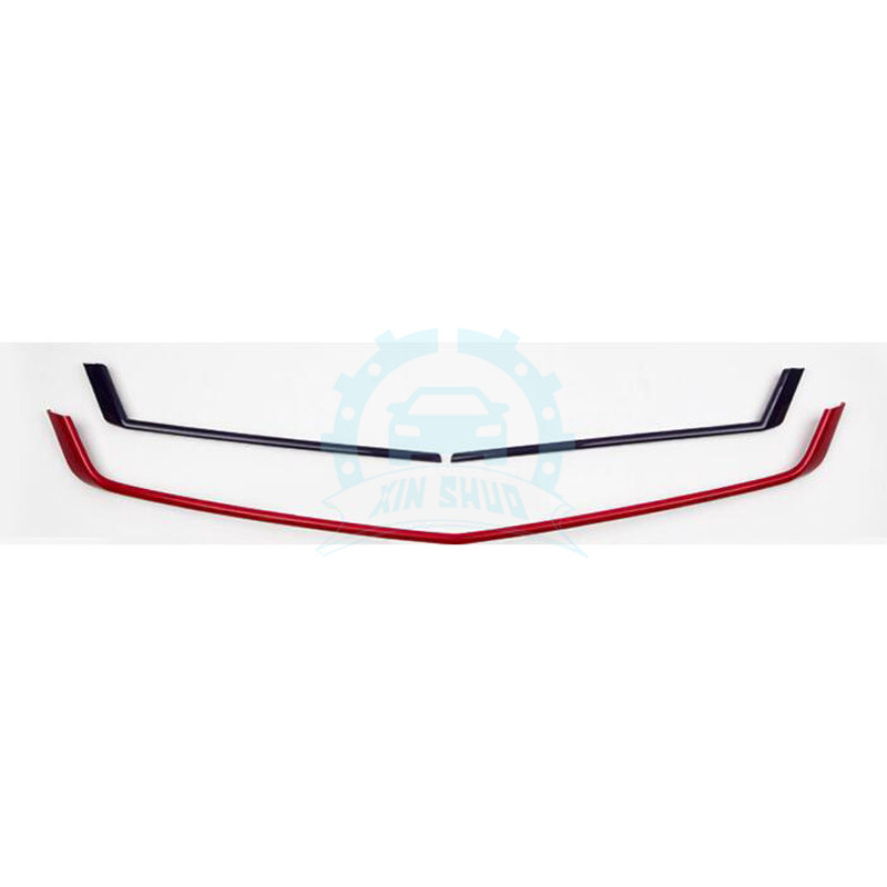 ABS Front Grille Mesh Cover Trim Refit Red+Blue Fit For