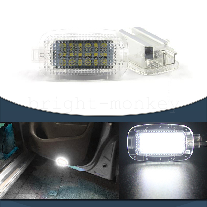 BENZ SL CLASS R230 LED PACKAGE DOOR LUGGAGE FOOTWELL INTERIOR LIGHT BULB KIT