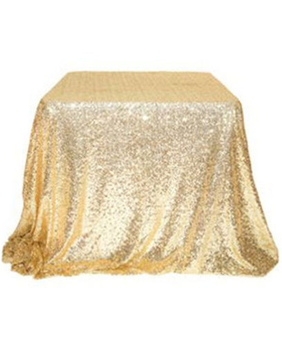 Gold Sparkly Sequin Table Runner Shimmer