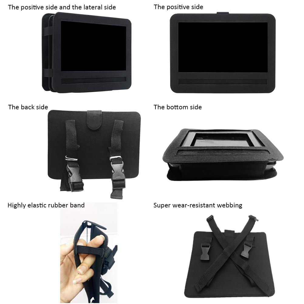 7 9 10 tragbare dvd player shell aufbewahrungstasche auto. Black Bedroom Furniture Sets. Home Design Ideas