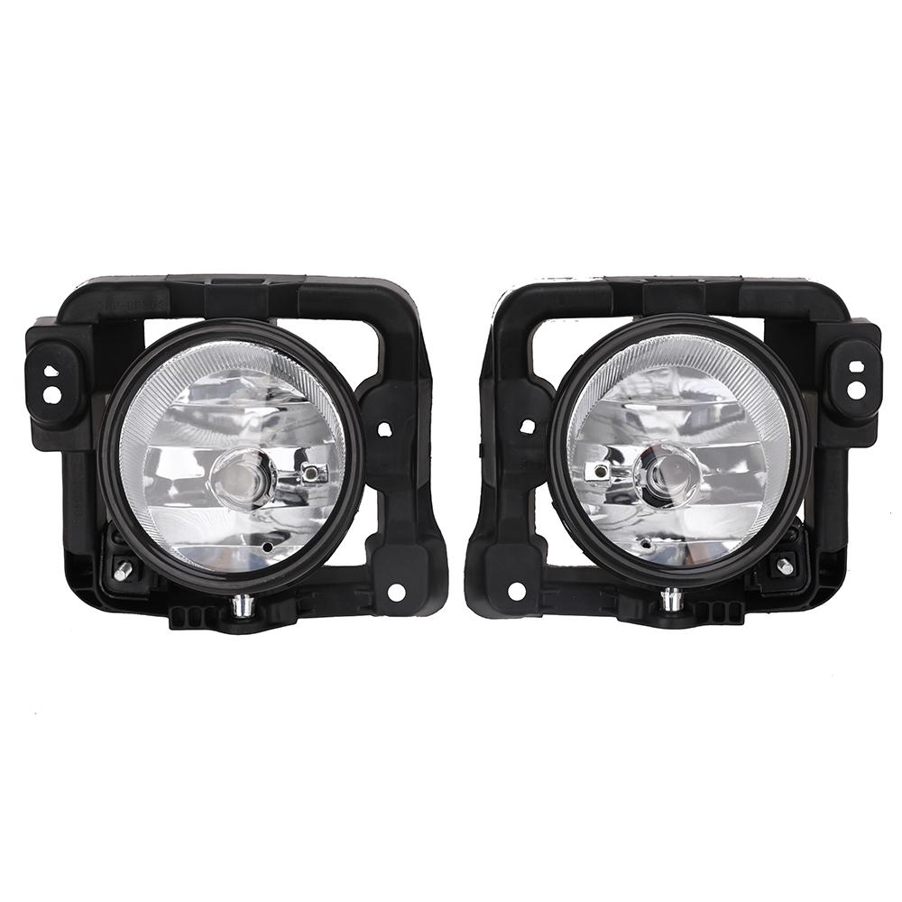 New Left & Right Fog Clear Driving Light Lamp W/ 2 Bulb