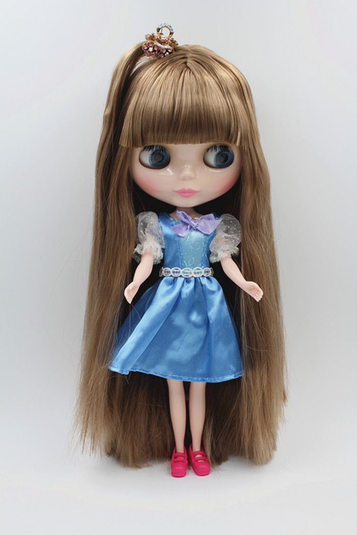 Takara 12 Neo Blythe Golden Hair Nude Doll from Factory