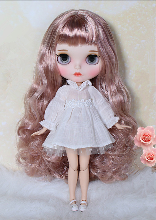 """12/"""" Neo Blythe Doll Mix Hair Nude Doll from Factory JSW8008+Gift"""