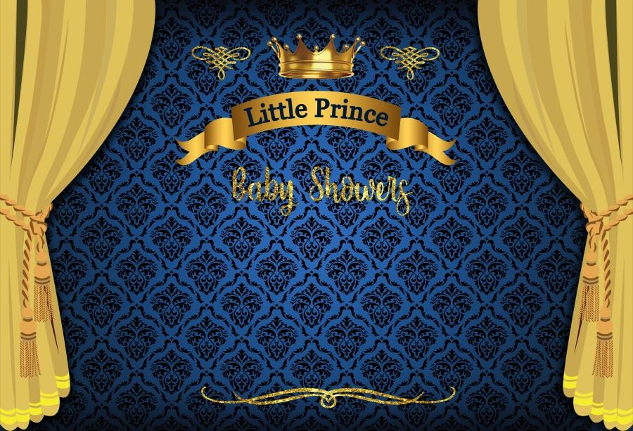 Baby Shower Little Prince Backdrop Props Background Studio