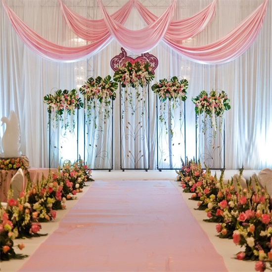 Details About Wedding Stage Flower Photo Backdrop 8x8ft Seamless Photography Background Prop
