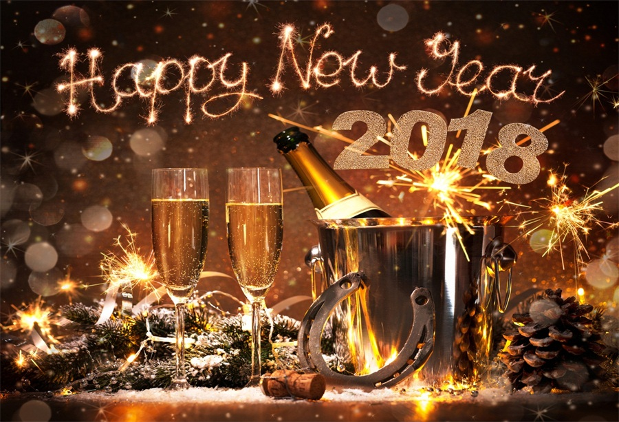 new year backdrops