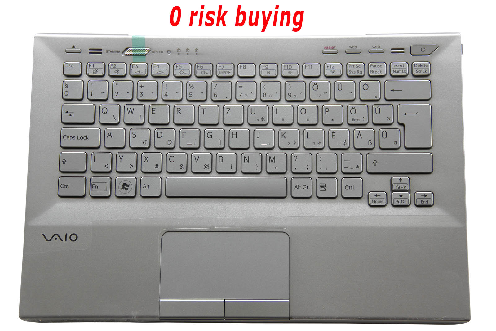 For Sony VPC-SE VPC-SE1E1E PCG-41414M Keyboard Hungarian Magyar Backlit Top case