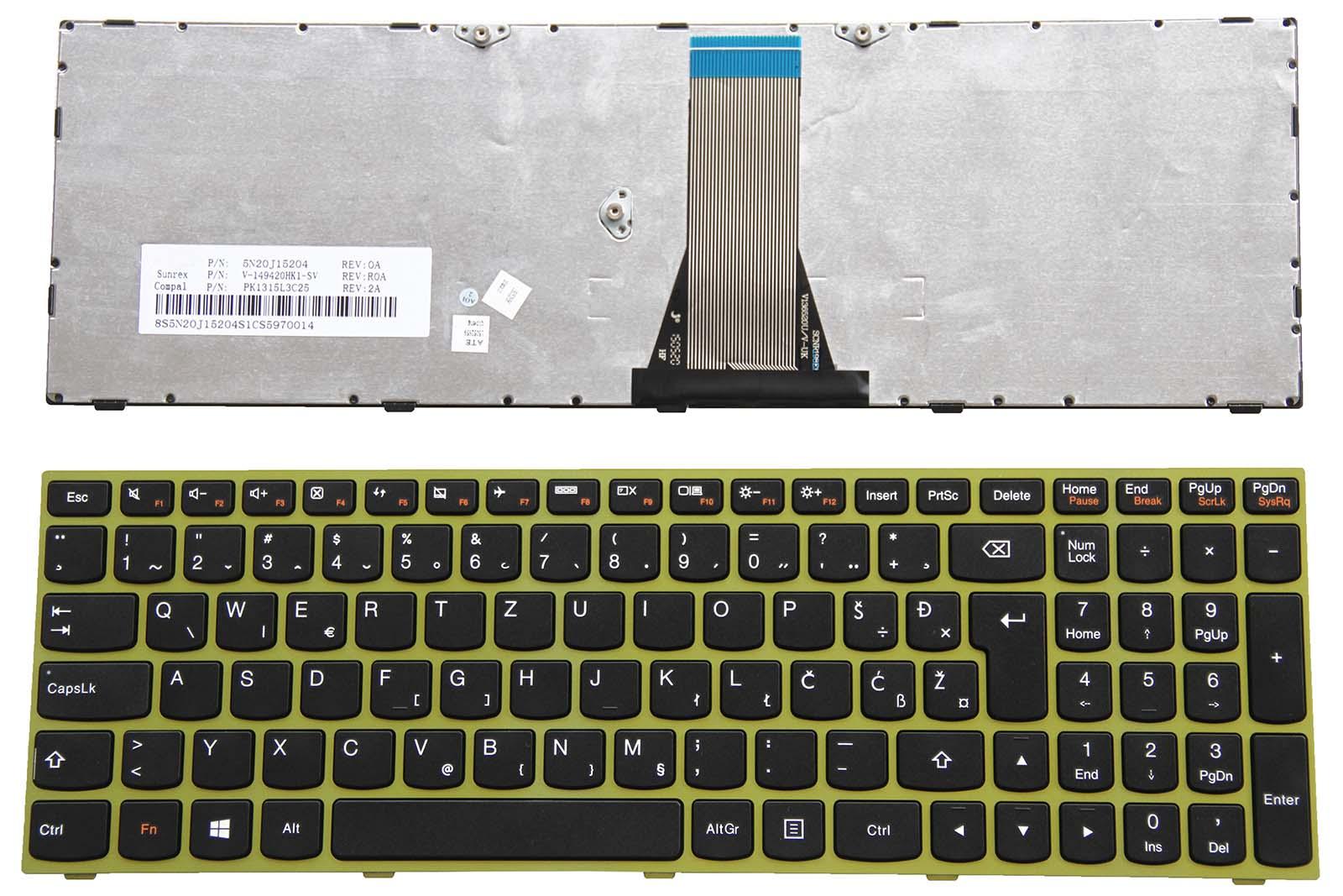 ORIGINALE Laptop QWERTZ Tastiera Tedesco Per Lenovo b50-70 b50-80 b51-30