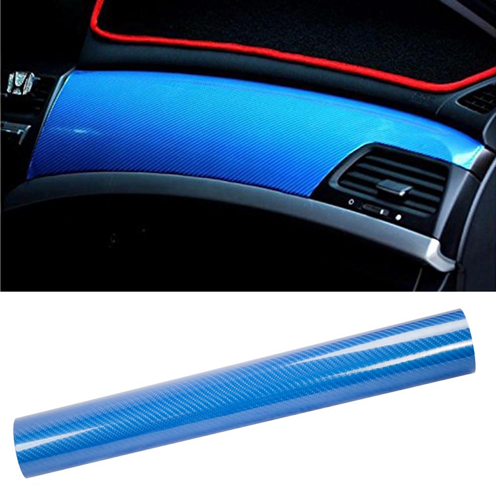 "5D Ultra Shiny Glossy Carbon Black Fiber Decal Sticker 12/""x60/"" for CHEVROLET Car"