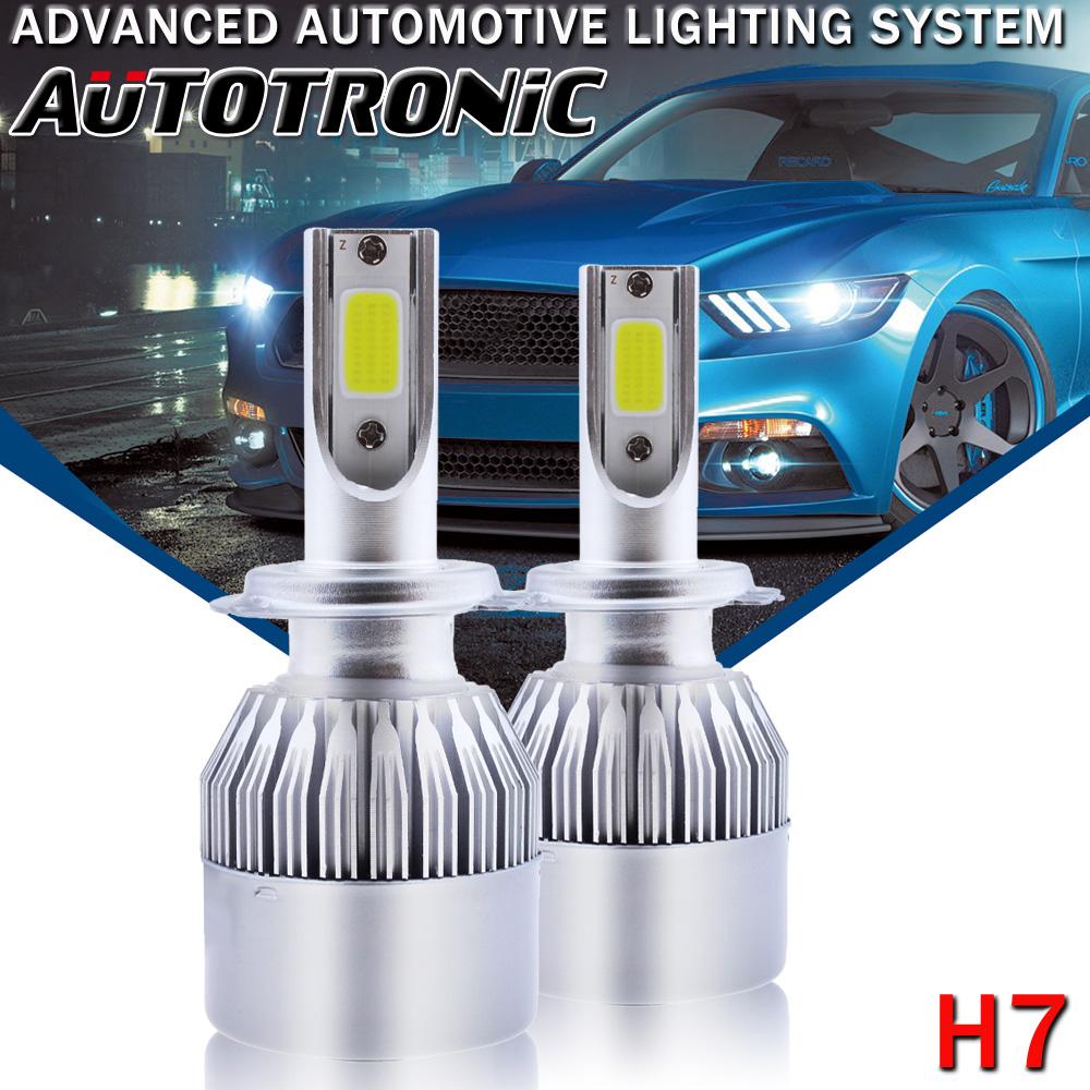 Pair 12V Car Off Road HID Xenon Headlight Replacement Bulbs 75W H1 H7 H8 H9 H11