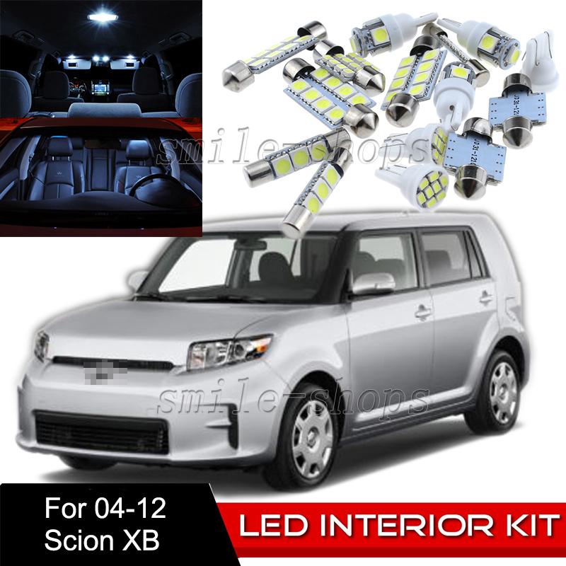 2004-2006 Scion xB Red LED Lights Interior Kit