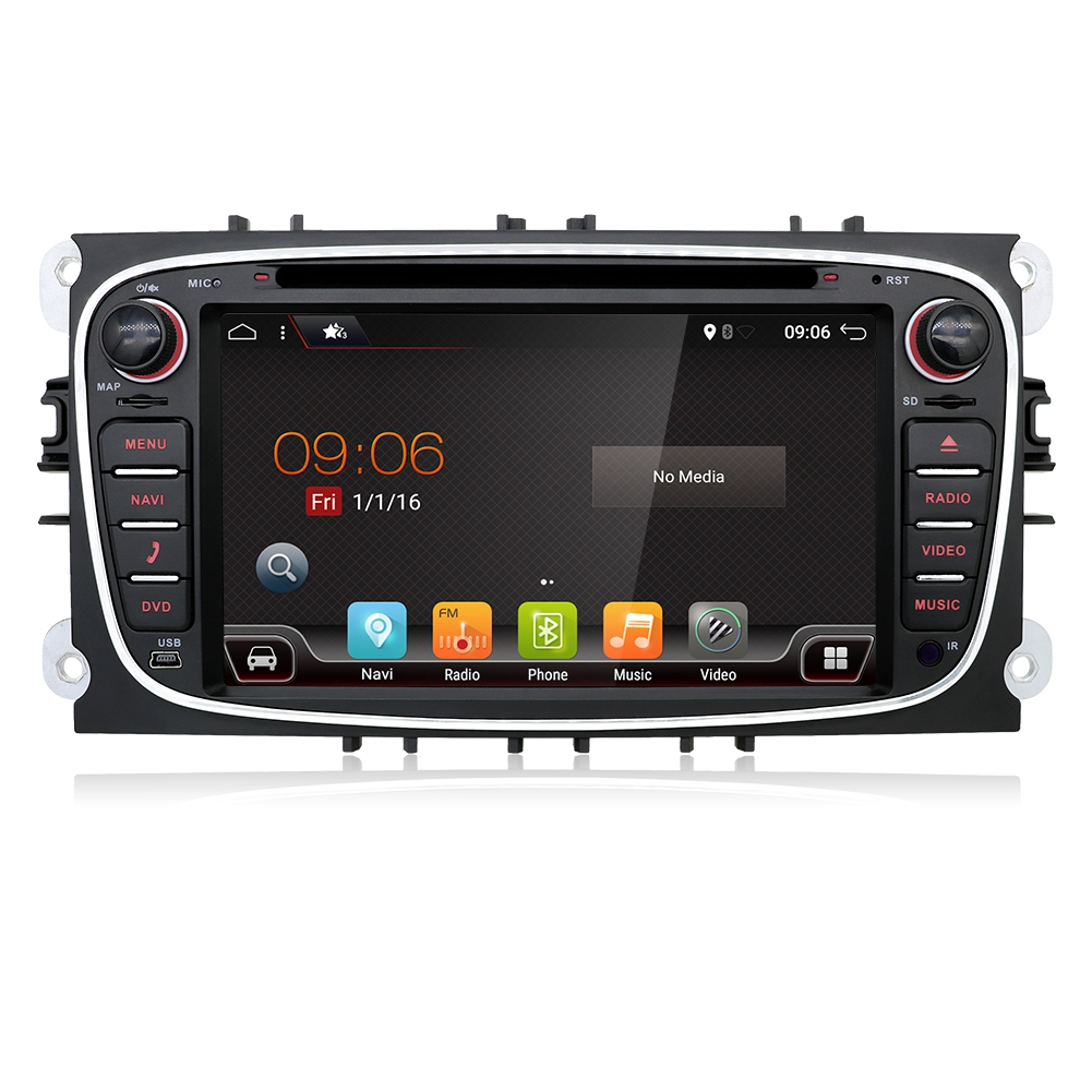 android 8 0 autoradio navi gps dvd 2 din aux for ford. Black Bedroom Furniture Sets. Home Design Ideas