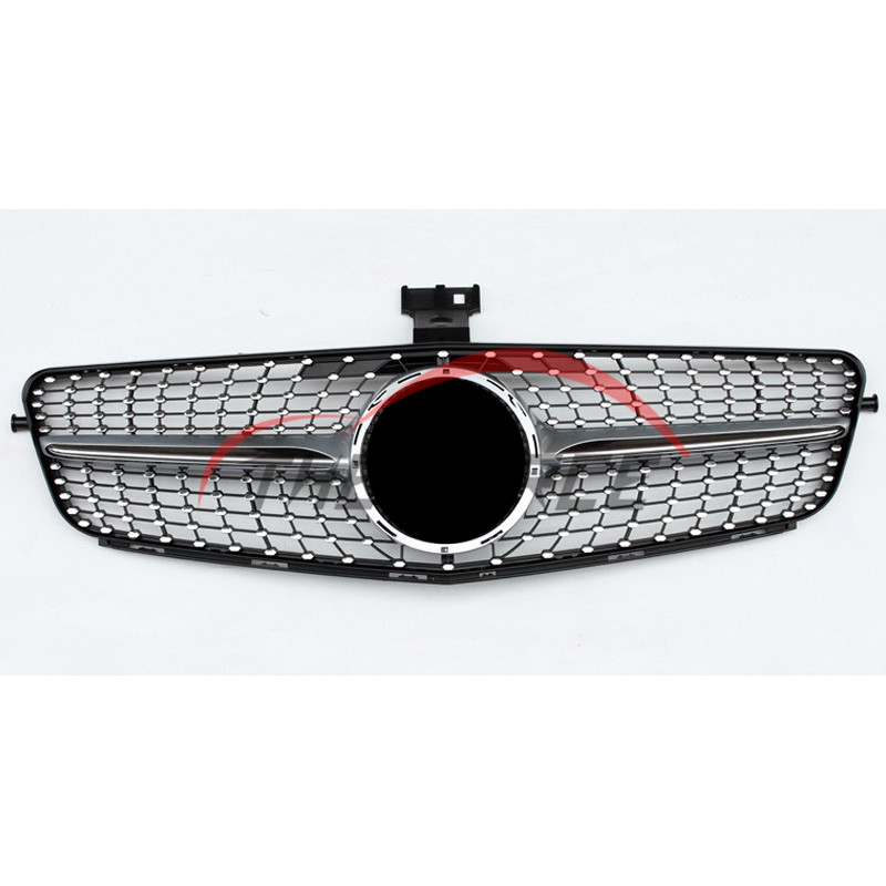 Front Grille Vent Fit For Mercedes Benz B B200 B Class: Fore Vent Grilles Grille Silver Diamond For 2007-2014