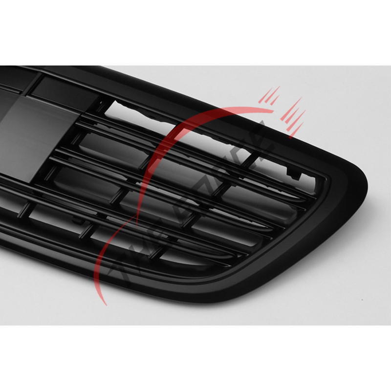 Front Grille Vent Fit For Mercedes Benz B B200 B Class: Matte Black Front Vent Grilles For Mercedes-Benz S Class