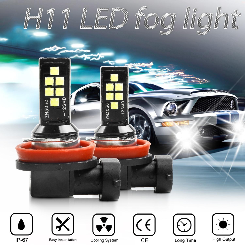 Led Fog Driving Light H11 H9 H8 For Infiniti G25 2012 11 G37 Sedan 2014 2011 Ebay