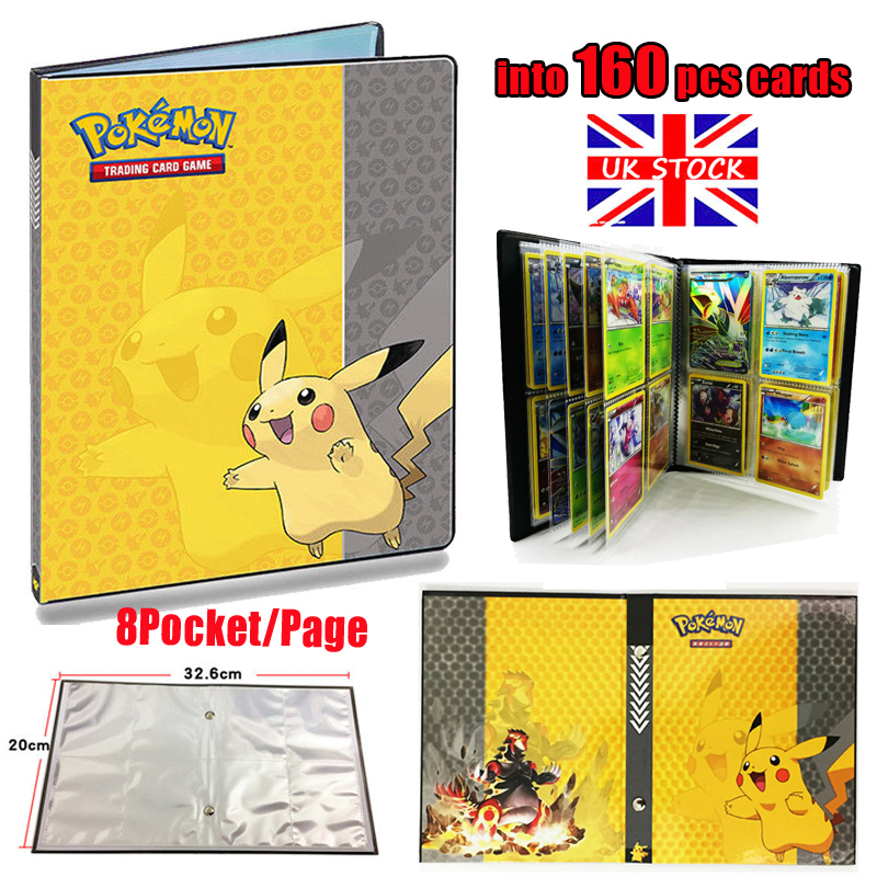 Pikachu Ultra Pro Pokemon Card Folder 160 Pockets
