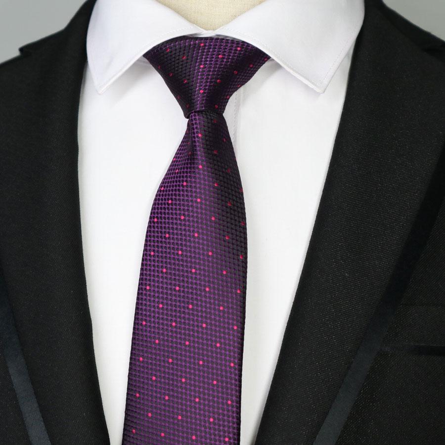 Men's Tie -Woven-Narrow Skinny Slim-Brand New Pure Silk Yellow