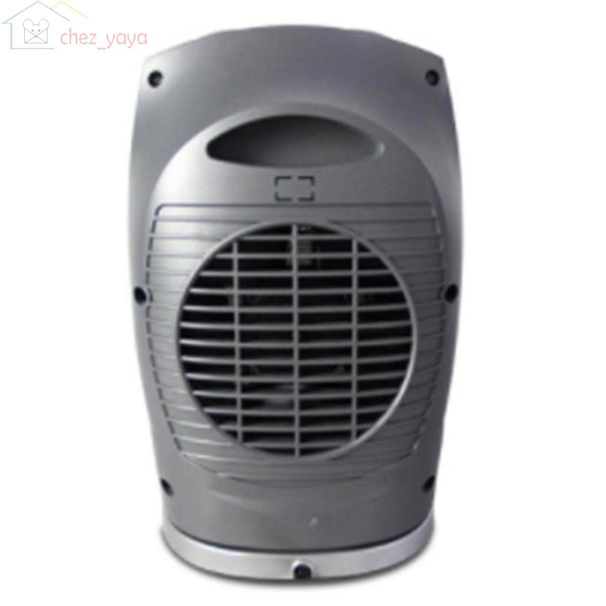 Chauffage soufflant c/éramique avec Protection contre la surchauffe et anti-chute radiateur et ventilateur de 750w//1500w r/églable