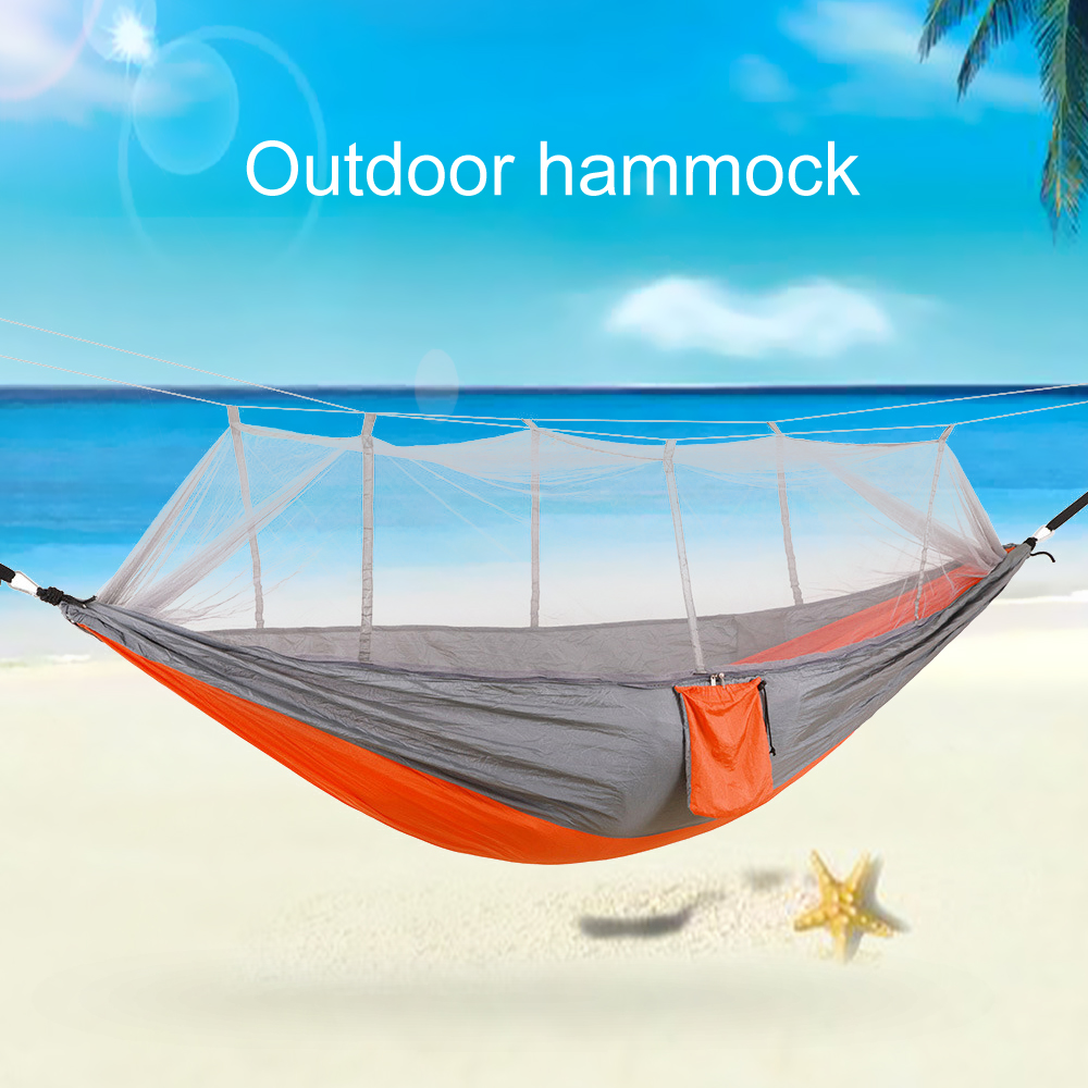 Rain Fly Tarp 2 Person Outdoor Camping Hammock With Mosquito Net Mesh