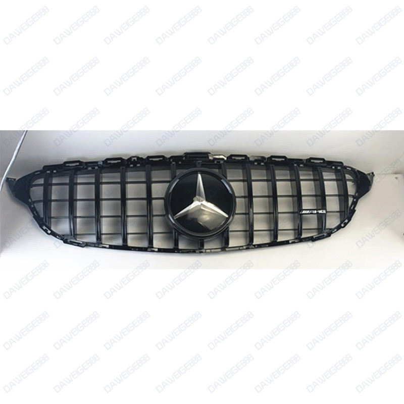 Chrome Auto Front Grill Grille Mesh For Mercedes Benz B: Black Front Bumper Vent Mesh Grille For Mercedes-Benz W117