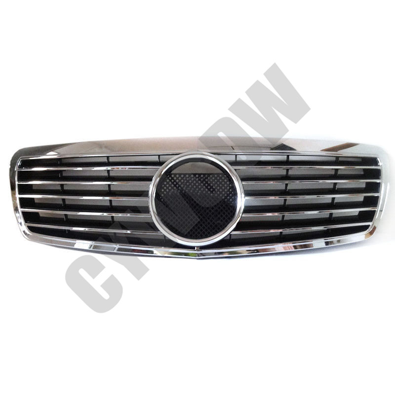 Front Grille Vent Fit For Mercedes Benz B B200 B Class: Fit For 2002-06 Mercedes-Benz E Class W211 Refit Front