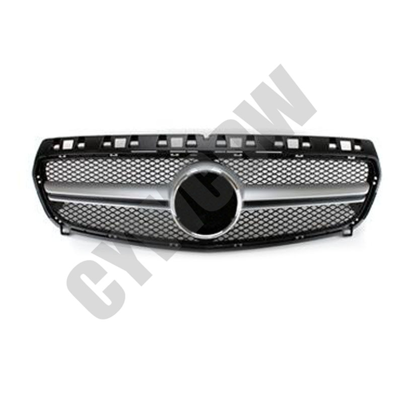 Front Grille Vent Fit For Mercedes Benz B B200 B Class: For Mercedes-Benz A Class W176 2013-15 ABS Front Bumper